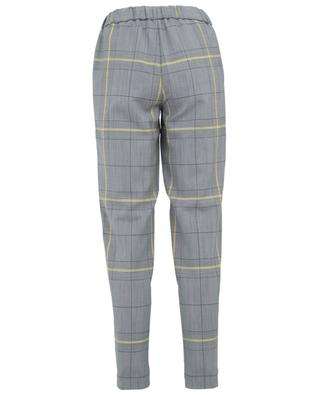 Merino wool and mohair cropped trousers FABIANA FILIPPI
