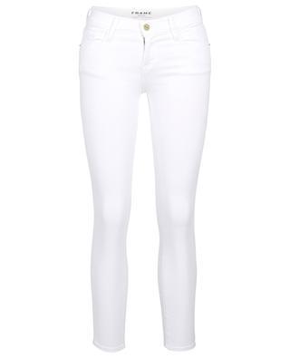 Le Skinny de Jeanne Crop Blanc jeans FRAME