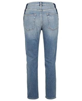 The Original Elton cropped straight-fit high-rise trousers FRAME