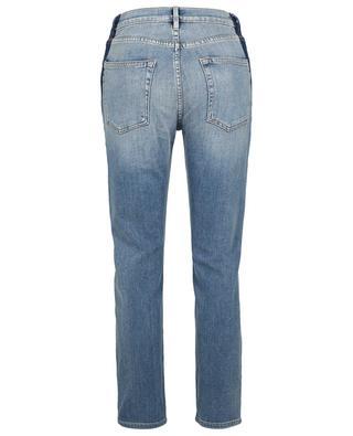 Gerade verkürzte Jeans mit hoher Taille Le Original Elton FRAME