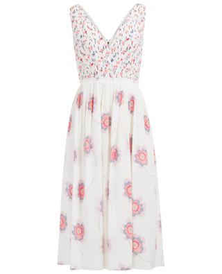 Long silk blend dress AGNONA