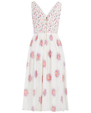 Langes Kleid aus Seidenmix AGNONA