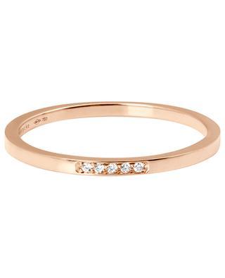 Mini Medellin rose gold and diamonds ring VANRYCKE