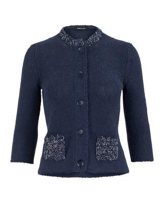 Jacke aus Leinen und Baumwolle ANNECLAIRE