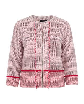 Cotton blend jacket ANNECLAIRE