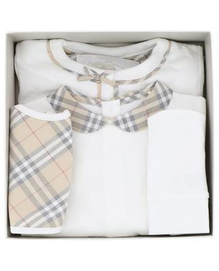 Four-piece baby set BURBERRY