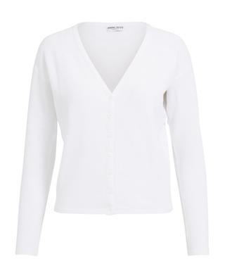 Piquéd cotton cardigan BONGENIE GRIEDER