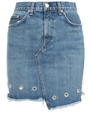 Asymmetrischer kurzer Jeansrock RAG & BONE