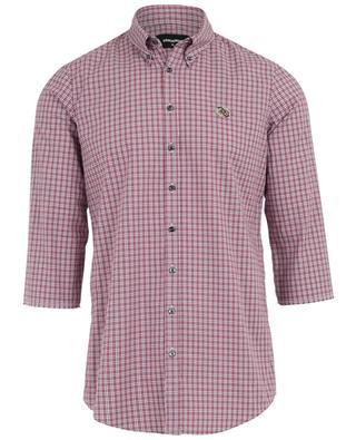 Kariertes Hemd aus Baumwolle DSQUARED2