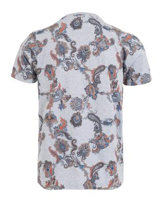 Baumwoll-T-Shirt mit Paisley-Print ETRO