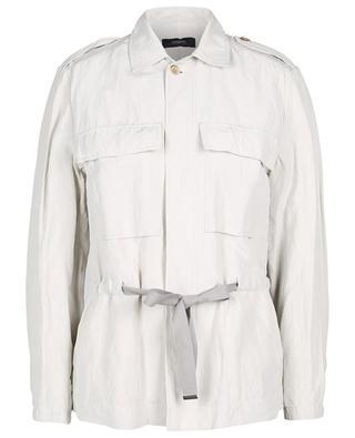 Safari-Jacke aus Leinen und Seide Ariz Vintage Silk JOSEPH