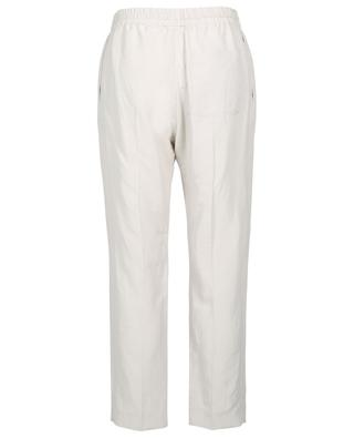 Louna Vintage Silk linen and silk blend trousers JOSEPH