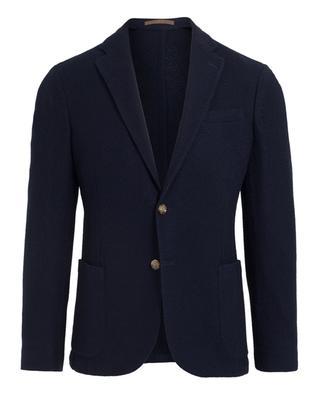Textured cotton blazer ELEVENTY