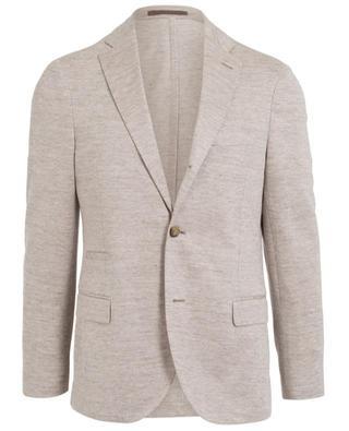 Linen and cotton blazer ELEVENTY