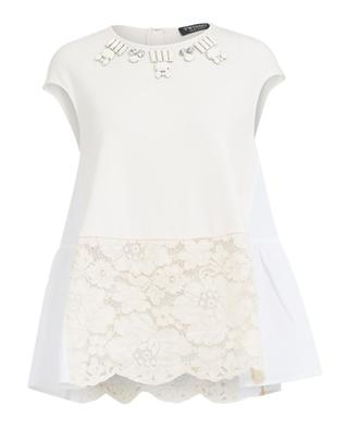 Embroidered top TWINSET
