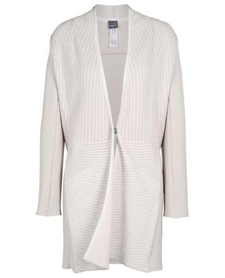 Striped knit coat LORENA ANTONIAZZI