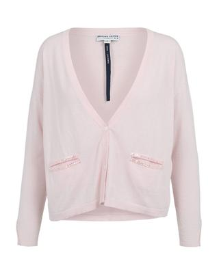Cotton and cashmere cardigan BONGENIE GRIEDER