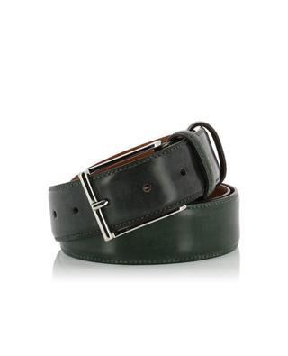 Smooth leather belt SANTONI