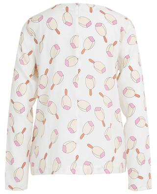 Ice cream print blouse HERZEN'S ANGELEHEIT