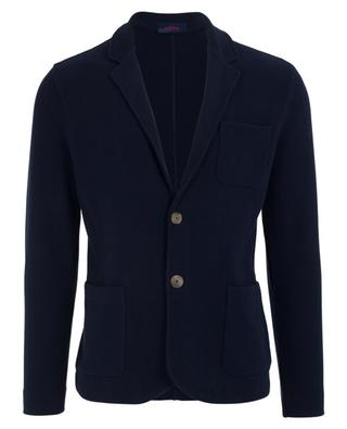 Textured cotton blazer ALTEA