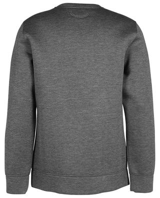 Sweatshirt aus Neopren Tape Detail HELMUT LANG