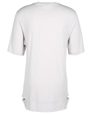 Langes Jersey-T-Shirt Cut Hems HELMUT LANG