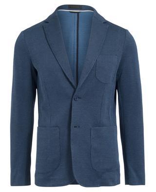 Textured cotton jacket ERMENEGILDO ZEGNA