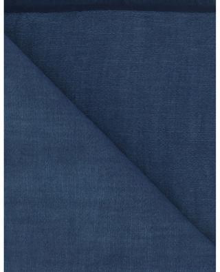 Wool and linen blend scarf HEMISPHERE