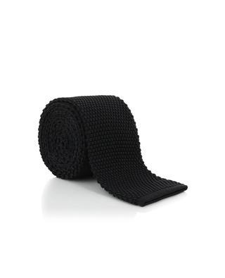 Cravate côtelée en soie ALTEA