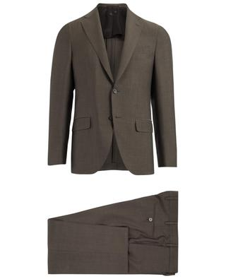 Wool, mohair and silk blend suit CARUSO
