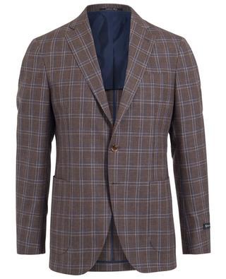 Blazer aus Wolle, Seide und Leinen NAPOLI COUTURE