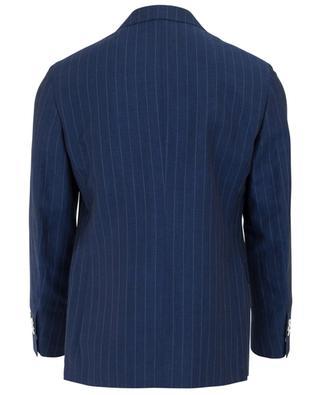 Anzug aus Wolle und Leinen NAPOLI COUTURE