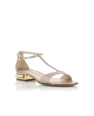 Sandales en cuir et perles ROBERTO FESTA
