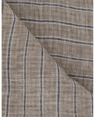 Einstecktuch aus Leinen- und Baumwollmischgewebe GLAETTLI MODEAGENTUR
