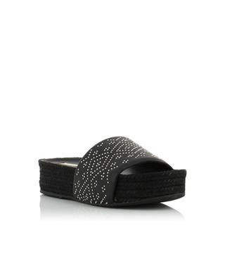Sandales en cuir et corde Gilles PALOMA BARCELO