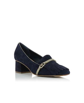 Suede heeled loafers BONGENIE GRIEDER