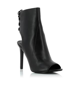 Open leather boots KENDALL & KYLIE