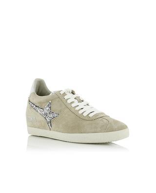 Tiefe Sneakers aus Wildleder Guepard ASH
