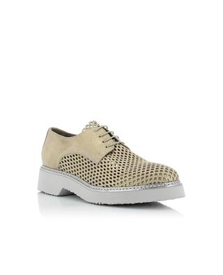 Suede brogues with glitter FRU.IT