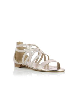 Sandales en cuir métallisé BONGENIE GRIEDER