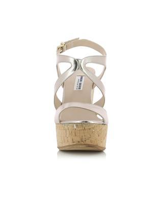 Leather wedge sandals BONGENIE GRIEDER