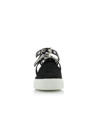 Sneakers aus Leder mit Riemen Texas SELF PORTRAIT