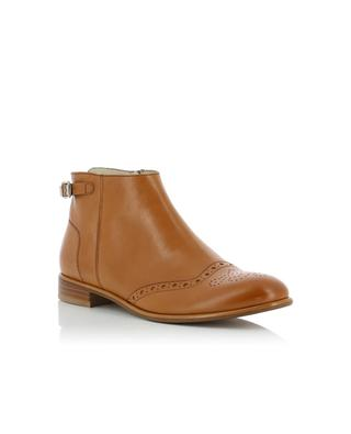 Leather ankle boots TRIVER FLIGHT