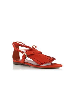 Sandalen aus Wildleder SANTONI