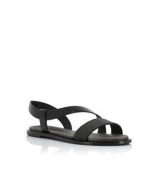 Leather sandals BRUNELLO CUCINELLI
