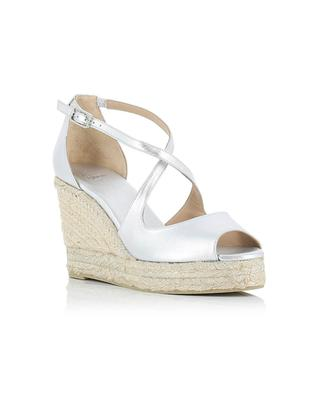Plata leather wedge espadrilles CASTANER
