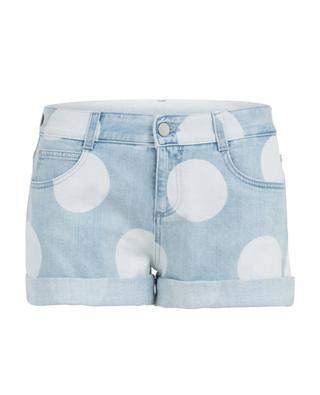 Jeans-Shorts mit Punkten STELLA MCCARTNEY