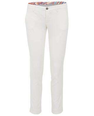 Pantalon slim en lyocell et coton BERWICH