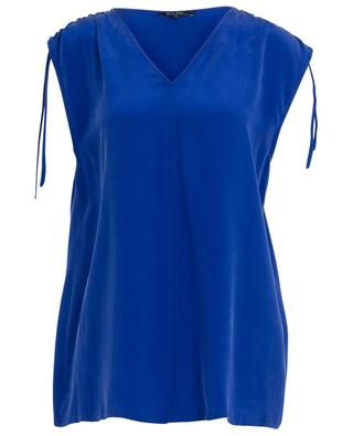Volupte sleeveless silk top TOUPY