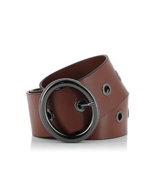 Leather belt SCHUMACHER